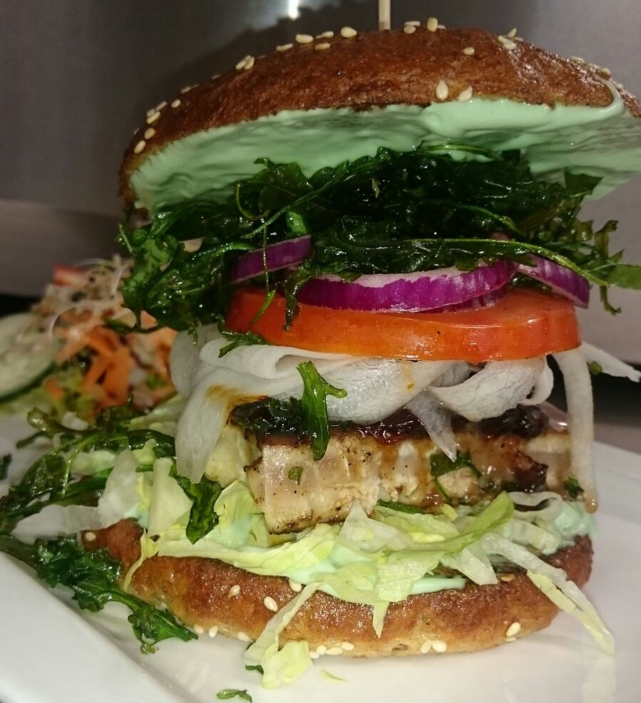 Green Wasabi Burger