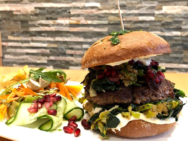 Lamm Hamburger bei Burgerglück in Goslar