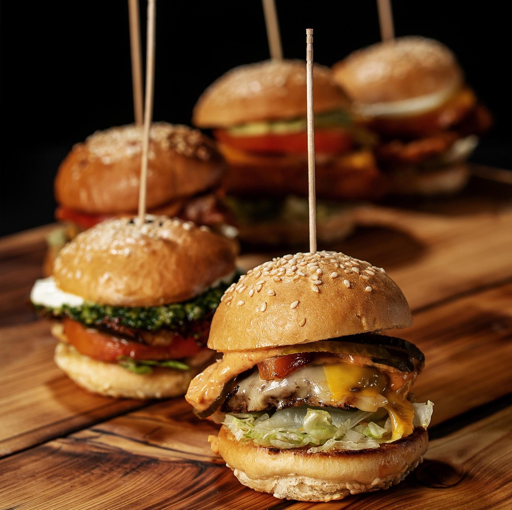 Burgerglück Food-Truck Catering Hamurger
