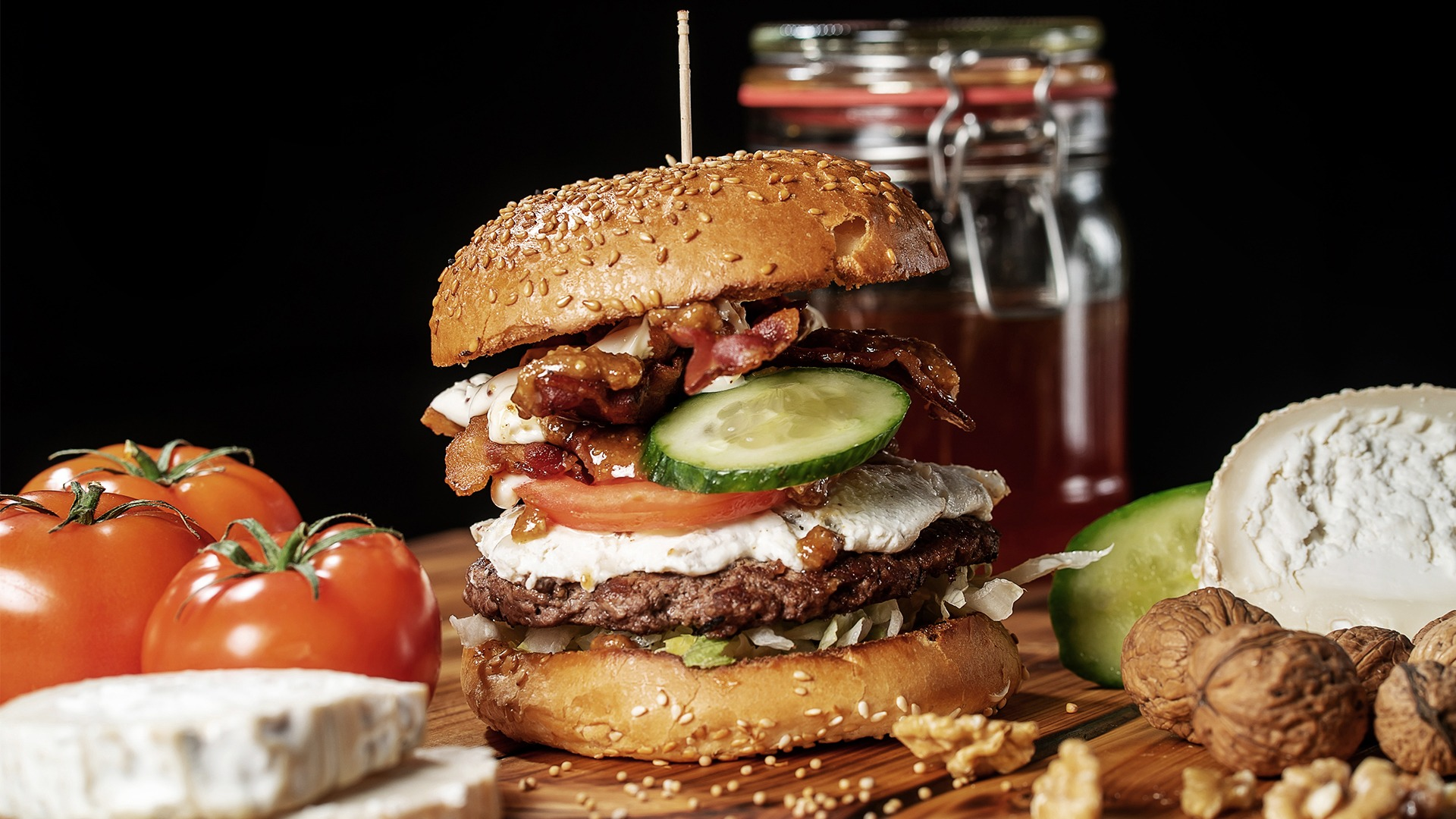 DIe besten Hamburger in Goslar gibt es bei Burgerglück